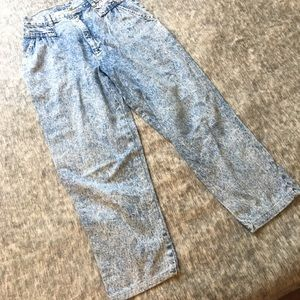 1990s Cherokee High Rise  Crop Jeans Size 0-2